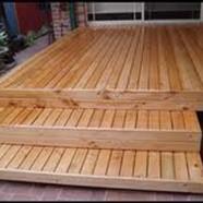 Treated Pine Decking